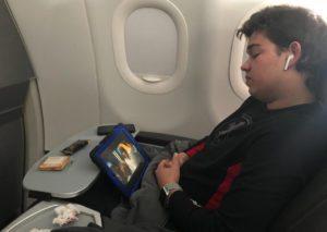 genz on a plane